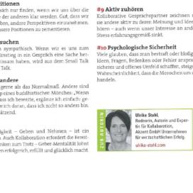 10 Hacks fuer Kollaboration das buero 03 2019 Expertin fuer kooperative Zusammenarbeit Ulrike Stahl