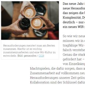 10 Kollaborations-Hacks fuer ein neues Wir im B2B 01 2019 macronomy.de Expertin fuer das neue WIR Ulrike Stahl