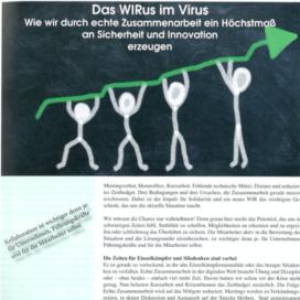 Das WIRus im Virus in Der österreichische Friseur 05_20 von Ulrike Stahl Keynote Speaker fuer Kollaboration