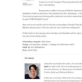 Das agile WIR ist mehr als die Umsetzung agiler Methoden 03 18 Expertin fuer kooperative Zusammenarbeit Ulrike Stahl