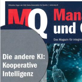 Die andere KI Kooperative Intelligenz in MQ Management und Qualitaet 03_20 von Ulrike Stahl Keynote Speaker fuer Zusammenarbeit