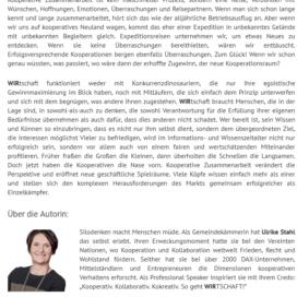 Erfolgsturbo im Wissenszeitalter 2018 Expertin fuer kooperative Zusammenarbeit Ulrike Stahl