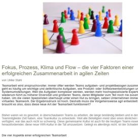 Fokus, Prozess, Klima und Flow frauen-business.at 05 2019 Expertin fuer kooperative Zusammenarbeit Ulrike Stahl