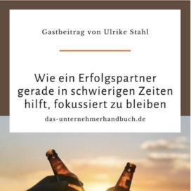 Gemeinsam gehts leichter in Das Unternehmerhandbuch 04_20 von Ulrike Stahl Keynote Speaker fuer Kollaboration