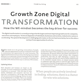 Growth Zone Digital Transformation Optic+Vision International 01 2019 Expertin fuer kooperative Zusammenarbeit Ulrike Stahl