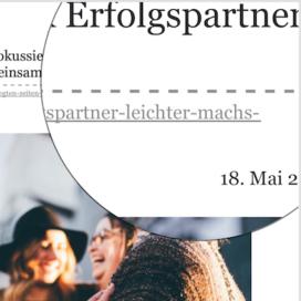 In bewegten Zeiten fokussiert bleiben Dank Erfolgspartner auf She works 05_20 von Ulrike Stahl Rednerin fuer Kollaboration