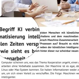 KI Kooperative Intelligenz als zentraler Treiber auf 3Minutencoach 05_20 von Ulrike Stahl Vortragsrednerin fuer erfolgreiche Zusammenarbeit