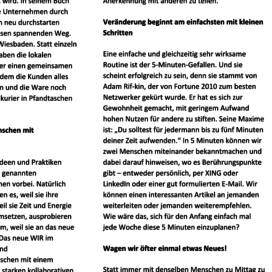 Konkurrenzlos erfolgreich – Das neue WIR im Business SHE works! ePaper 04 2019 Expertin fuer kooperative Zusammenarbeit Ulrike Stahl