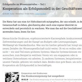 Kooperation als Erfolgsmodell in der Geschaeftswelt 02 2018 Expertin fuer kooperative Zusammenarbeit Ulrike Stahl