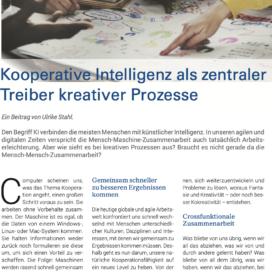 Kooperative Intelligen als zentraler Treiber in ZT Wirtschaft 04_2020 von Ulrike Stahl Rednerin fuer Kooperation