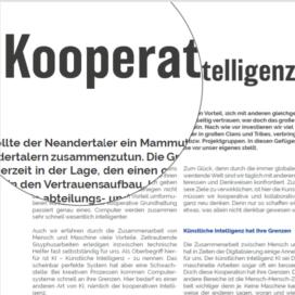 Kooperative Intellingenz Zusammen mehr erreichen in Wissensmanagement 06_20 von Ulrike Stahl Rednerin fuer Kooperation