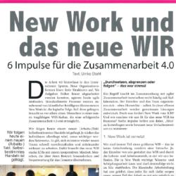 New Work und das neue WIR Startup Valleye 04_2019 Ulrike Stahl Expertin fuer kooperative Zusammenarbeit