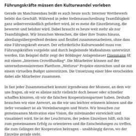 So bleibt die Zusammenarbeit auf Kurs 07 2018 maschinenmarkt.vogel.de Expertin fuer kooperative Zusammenarbeit Ulrike Stahl