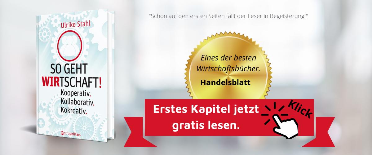 So geht WIRtschaft Autorin Ulrike Stahl Eines der besten Wirtschaftsbuecher laut Handelsblatt Autorin Ulrike Stahl