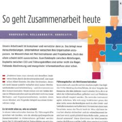 So geht Zusammenarbeit heute eyebizz 03_2019 von der Expertin fuer das neue WIR Ulrike Stahl