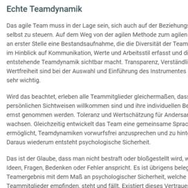 Teamdynamik als Basis fuer agile Methoden 03 2018 Expertin fuer kooperative Zusammenarbeit Ulrike Stahl