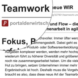 Teamwork und das neue WIR_portalderwirtschaft.de 07_2019 von Ulrike Stahl Teamworkshops live und online für globale und internationale Teams