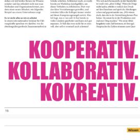 Tipps fuer bessere Kollaboration Founders Magazin 02_20 von Ulrike Stahl Keynote Speaker für Kollaboration