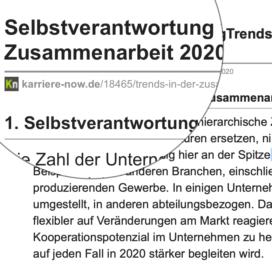Trends in der Zusammenarbeit 2020_ karriere-now.de 11_2019 von Ulrike Stahl Teamentwicklung für virtuelle und globale Teams