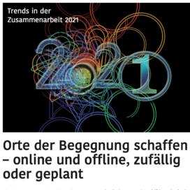 Trends in der Zusammenarbeit 2021_TT-DIGI 12_2020 von Ulrike Stahl Teamentwicklung mit Insights Discovery