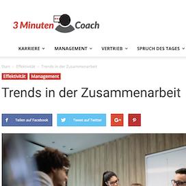 Trends in der Zusammenarbeit 3minutencoach 02_20 von Ulrike Stahl Rednerin fuer Kooperation