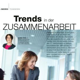 Trends in der Zusammenarbeit in Austrian Business Woman 05_20 von Ulrike Stahl Rednerin fuer Kooperation und Zusammenarbeit