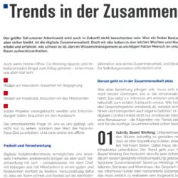 Trends in der Zusammenarbeit online und offline_wissensmanagement 02_2021 von Ulrike Stahl Teamentwicklung mit Insights Discovery