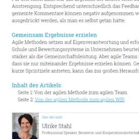 Von der agilen Methode zum agilen Team 05 18 Expertin fuer kooperative Zusammenarbeit Ulrike Stahl