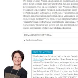 Warum die Kooperativen die Nase vorn haben 03 2018 Expertin fuer kooperative Zusammenarbeit Ulrike Stahl