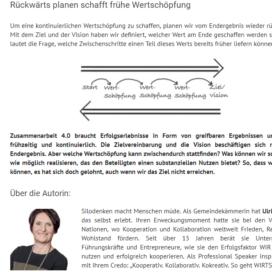 Warum es sich in der Zusammenarbeit 4.0 lohnt, vorwaerts UND rueckwaerts zu gehen 2018 Expertin fuer kooperative Zusammenarbeit Ulrike Stahl