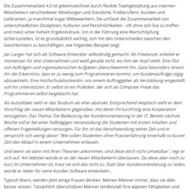 Was Maenner von Frauen in Sachen Zusammenarbeit 4.0 lernen koennen 07 2018 Expertin fuer kooperative Zusammenarbeit Ulrike Stahl