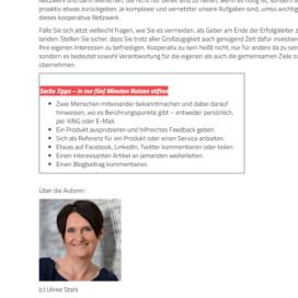 Was Sie vom Koenig der Netzwerker lernen koennen 2018 Expertin fuer kooperative Zusammenarbeit Ulrike Stahl