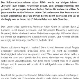 Was uns erfolgreich macht Geben Nehmen oder Tauschen 2018 Expertin fuer kooperative Zusammenarbeit Ulrike Stahl