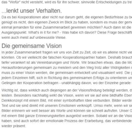 Whats in it for me So bleibt die Kooperation auf Kurs 05 18 Expertin fuer kooperative Zusammenarbeit Ulrike Stahl