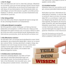 Wie Führungskräfte ihre Mitarbeitenden dazu motivieren ihr Wissen zu teilen - Journal Coiffure Suisse 06_2021 von Ulrike Stahl Organisationsentwicklung für agile Teams und Unternehmen