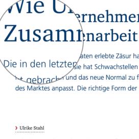 Wie Unternehmen eine neue Zusammenarbeit kultivieren_KMU-Magazin 11_2020 von Ulrike Stahl Teamentwicklung mit Insights Discovery