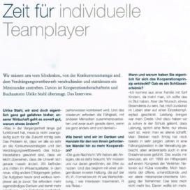 Zeit fuer individuelle Teamplayer seminarinside 03 2018 Expertin fuer das neue WIR Ulrike Stahl