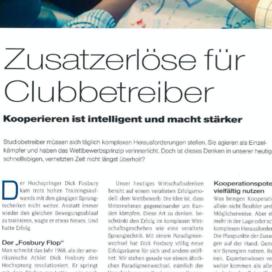 Zusatzerlöse für Clubbetreiber Kooperieren ist intelligent und macht stärker in Body Life 07_20 von Ulrike Stahl Keynote Speaker fuer Kooperation