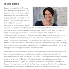 Zwischen Konkurrenz und Gemeinschaft 07 2018 Expertin fuer kooperative Zusammenarbeit Ulrike Stahl